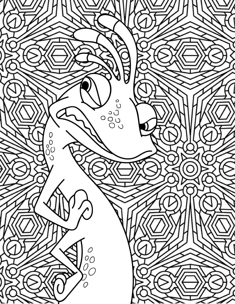 Randall Boggs Coloring Page