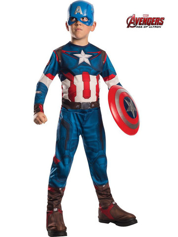 Boys Avengers 2 Captain America Costume
