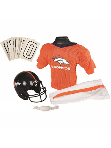 Boy's NFL Broncos Helmet & Uniform