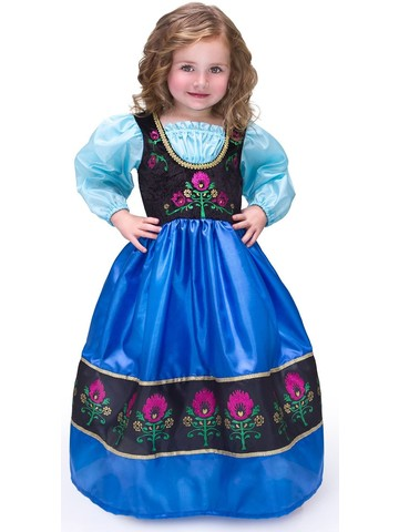 Girl's Deluxe Scandinavian Princess Costume