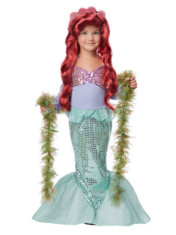 Lil' Mermaid Toddler Costume