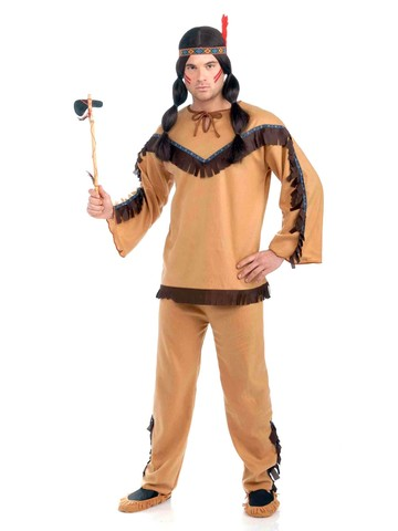 Men's Native American Brave Costume