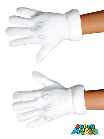 Super Mario Brothers Child Gloves