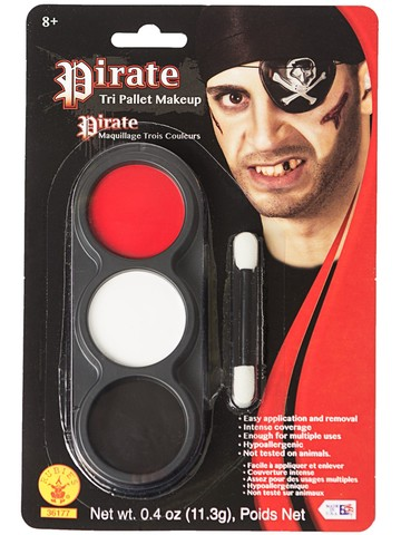 Tri Color Palettes Pirate