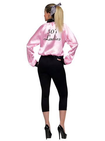 Women's Plus Size Pink Satin Lady Jacket