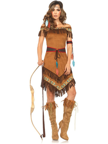 Women's Sexy Native Princess Costume